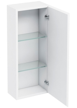 Related Aqua Cabinets White 300mm Single Mirrored Door Wall Cabinet