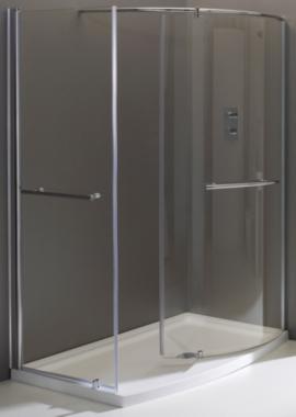 Related Champlain II Closing Walk-In Shower Enclosure 1350 x 900mm