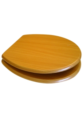 Related EuroShowers MDF Wood Design Toilet Seat - Beech