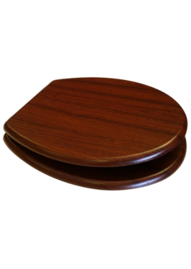 Related EuroShowers MDF Wood Design Toilet Seat - Walnut
