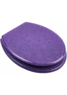 Related EuroShowers Resin Design Toilet Seat - Glitter Purple
