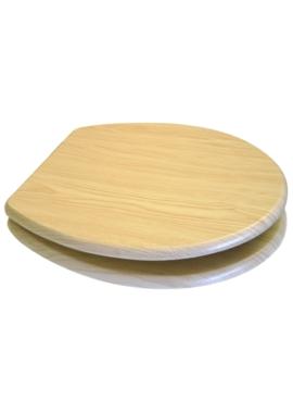 Related EuroShowers MDF Wood Design Toilet Seat - Light Pine
