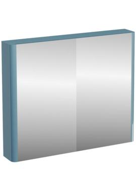 Related Aqua Cabinets Compact Ocean 900mm Double Mirrored Door Cabinet