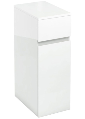 Related Aqua Cabinets D450 White 300mm Cupboard And Drawer Unit