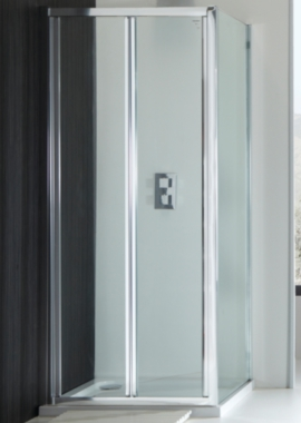 Champlain II 4mm Bi Fold Shower Door 1000mm