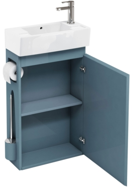 Related Aqua Cabinets All-In-One Ocean Floor Standing Unit And Cloakroom Basin