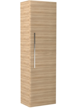 Related Noble Modular Natural Oak Tall Storage Unit 350 x 1200mm