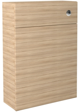 Related Noble Modular Natural Oak 600mm Full Height Back To Wall WC Unit