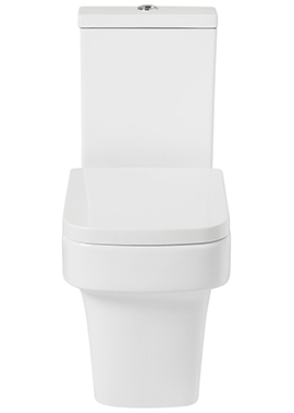 Related Vobe Open Back Close Coupled WC With Soft Close Seat