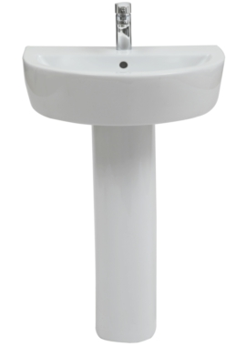 Related Focus 2 560 x 430mm Basin With Full Pedestal