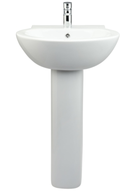 Related Buzzler 540 x 490mm Basin With Full Pedestal