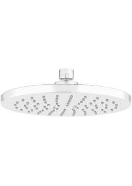 EuroShowers AeroTek Round Overhead Shower White