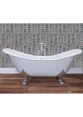 Related JIG Banburgh Large Cast Iron Free Standing Bath With Feet 1825 x 780mm