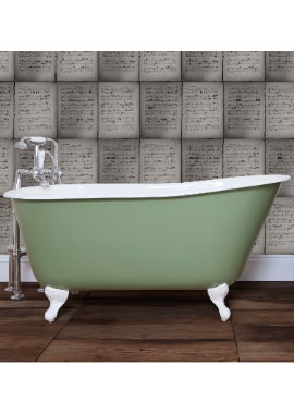 Related JIG Lille Cast Iron Free Standing Bath With Feet 1450 x 700mm