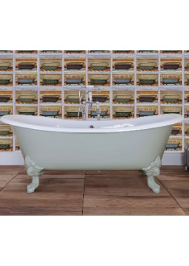 Related JIG Belvoir Cast Iron Free Standing Bath With Feet 1840 x 780mm