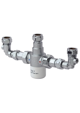 Related Bristan Gummers 15mm Thermostatic Mixing Valve With Isolation Elbows