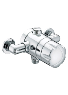 Related Bristan Commercial Opac Thermostatic Shower Valve With Chrome Handwheel