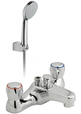 Related Vado Astra Bath Shower Mixer Tap With Shower Kit