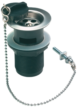 Related Sagittarius Slotted Waste With Plastic Flange And Poly Plug