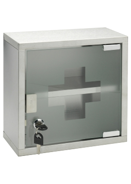 Related Sagittarius 250 x 250mm Lockable Medicine Cabinet
