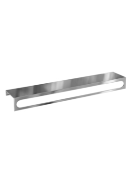 Related Britton 550mm Long Stainless Steel Towel Rail With Shelf