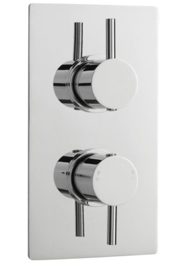 Related Lauren Pioneer Round Thermostatic Twin ABS With Diverter