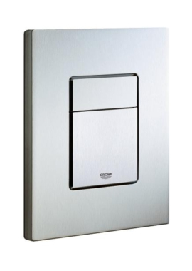 Related Grohe Cosmo Dual Flush Wall Plate stainless steel