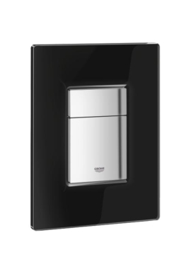 Related Grohe Cosmo Glass Flush Plate Velvet Black