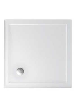 Related Britton Zamori 910mm Square Shower Tray With Two Sided Upstand