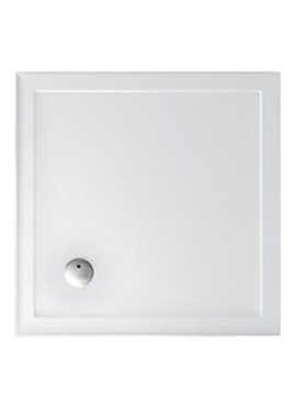 Related Britton Zamori 900mm Square Shower Tray With Three Sided Upstand