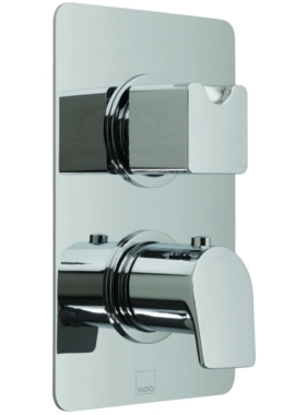 Related Vado Photon Concealed 3 Outlet 2 Handle Thermostatic Valve With Diverter