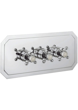Related Crosswater Belgravia Crosshead Landscape Thermostatic Valve - 2 Way Diverter