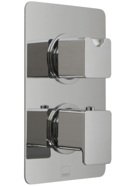 Related Vado Phase Concealed 2 Outlet 2 Handle Thermostatic Valve With Diverter