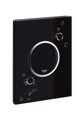 Related Grohe Nova Circles Flush Plate Glossy Black Chrome