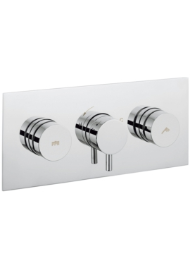 Related Crosswater Dial 2 Control Shower Valve With Kai Lever Landscape Trim