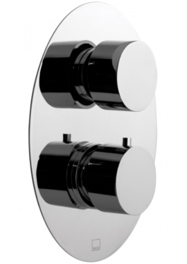 Related Vado Soho 2 Handle Concealed Thermostatic Shower Valve