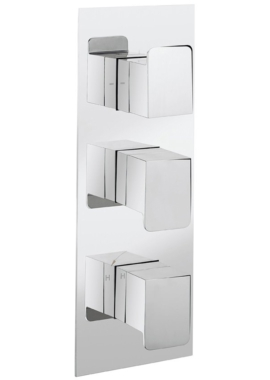 Related Crosswater Kelly Hoppen Zero 3 Portrait 3 Control Thermostatic Shower Valve