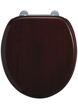 Related Burlington Mahogany Toilet Seat
