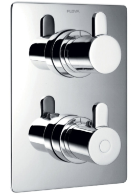 Related Flova Essence Concealed Thermostatic Shower Mixer With Shut Off Valve