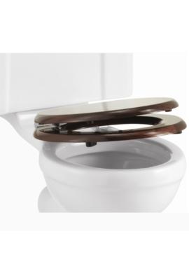 Related Burlington Mahogany Soft Close Toilet Seat