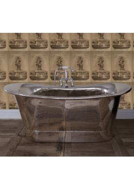 Related JIG Normandy Free Standing Copper Bath Nickle Finish 1730 x 710mm