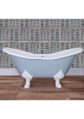 Related JIG Banburgh Small Cast Iron Free Standing Bath With Feet 1560 x 765mm