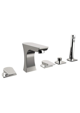 Related Bristan Hourglass 5 Hole Deck Mounted Bath Shower Mixer Tap