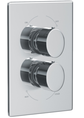 Related Abode Debut Concealed Thermostatic Shower Valve 1 Exit