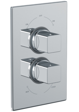 Related Abode Fervour 2 Exit Concealed Thermostatic Shower Valve