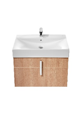Related Roca Diverta 750mm Wall Hung Vanity Unit And Basin