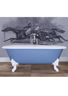 Related JIG Cartmel Cast Iron Free Standing Bath With White Feet 1840 x 800mm