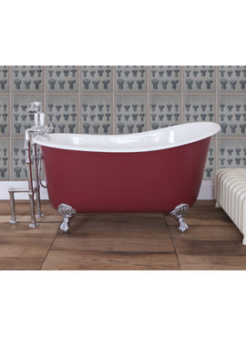 Related JIG Lyon Cast Iron Free Standing Bath With Feet 1370 x 730mm