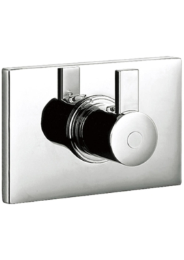Related Flova Str8 Concealed Thermostatic Shower Valve With Dual Outlet HP