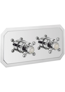 Related Crosswater Belgravia Crosshead Landscape Shower Valve With 2 Way Diverter